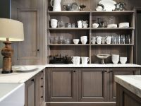 Natural Grey Kitchen Cabinets Ideas Design Ideas