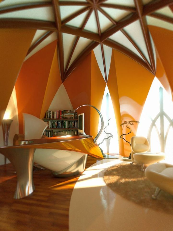 vaulted ceiling style also gives strength to your walls and ceilings