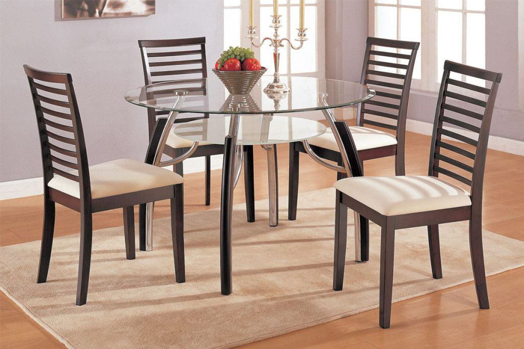 Lean And Simple Dining Table Chairs Designs