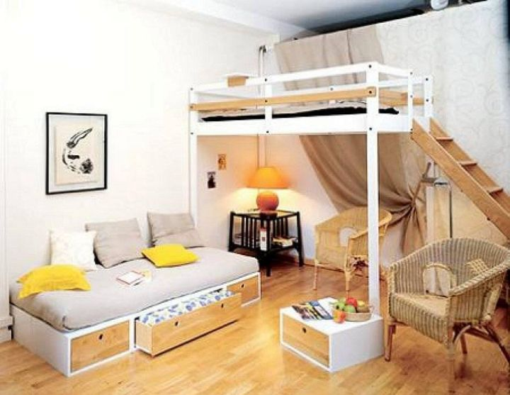 Adult loft bed with stairs with daybed - Adult loft beds with stairs ...
