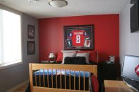 18 Unique Hockey Bedroom Design Ideas for Teenage Guys