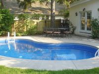 kidney shaped swimming pools for small yard