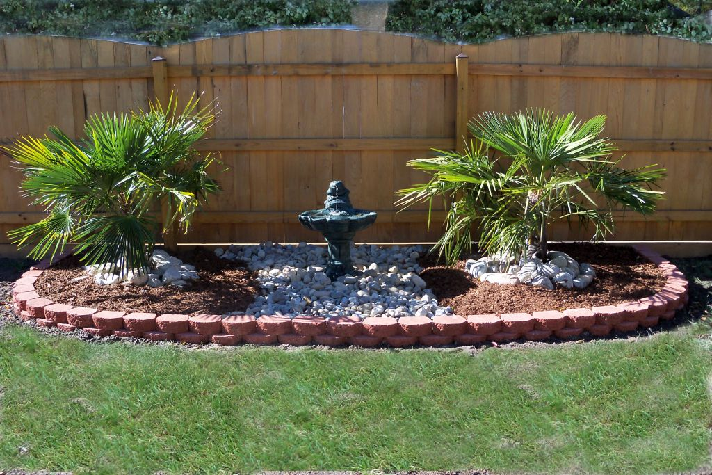 Landscape Fountain Design Ideas Good For Side Lawn Or