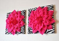 20 Glamorous Pink and Black Wall Dcor Art
