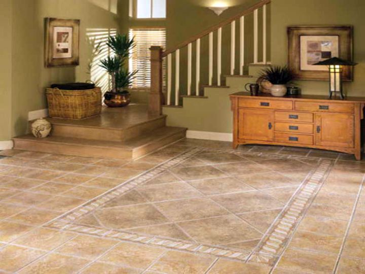 Delighful Flooring Ideas For Living Room R Throughout Design - tile floors in living room
