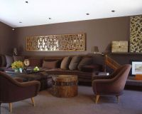 20 Relaxing Earth Tone Living Room Designs