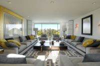 wide and spacious long living room ideas