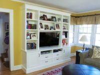 18 Neat Built-In TV Designs for Modern Living Room Interior