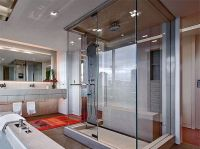 17 Streamlined Modern Glass Shower Designs