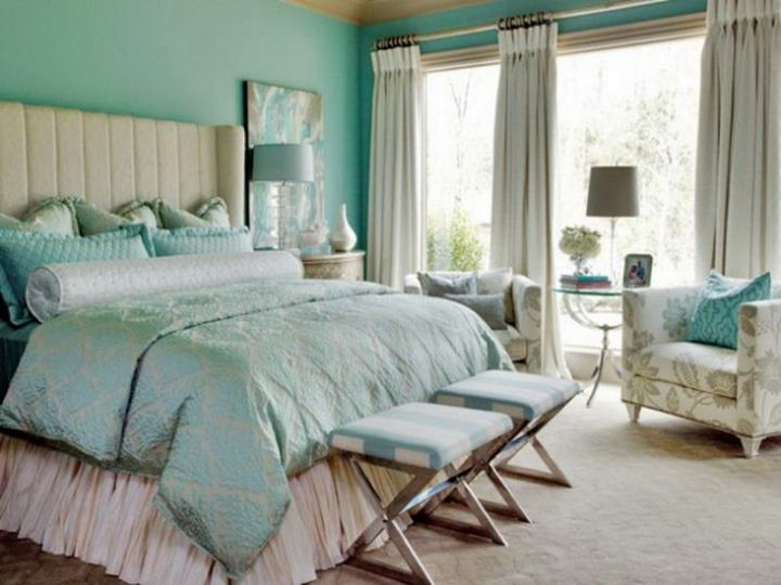 18 relaxing bedroom ideas for your busy lifestyle for Calming bedroom colors