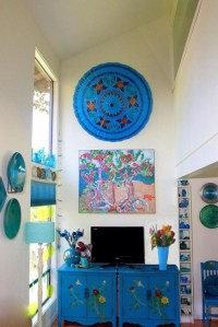 19 Gorgeous Turquoise Living Room Decorations and Designs