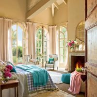 classy vintage bedroom decoration ideas with sitting area ...