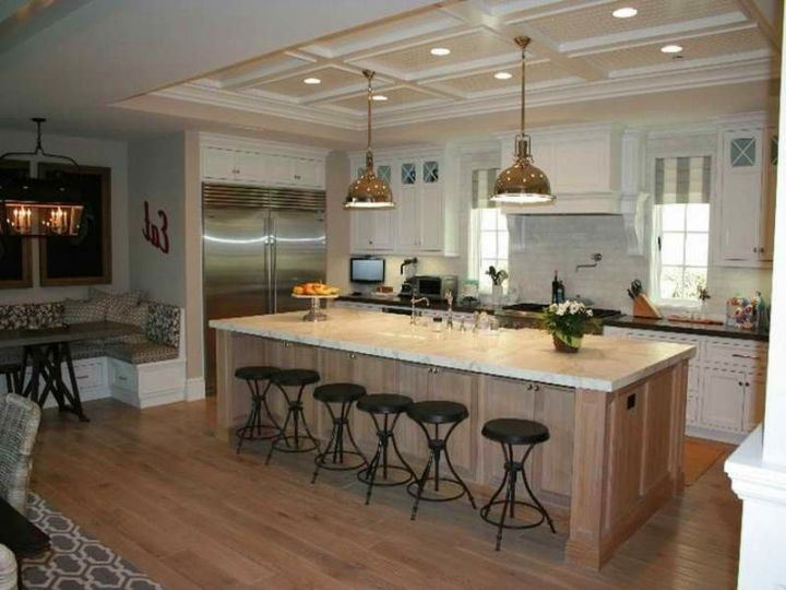 Modern Kitchen Islands With Seating