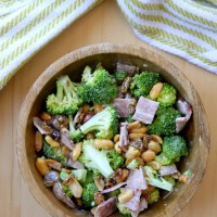 Bacon-y Broccoli Salad