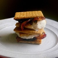 Caramelized Bacon S'mores
