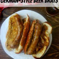 German-Style Beer Brats