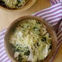 Kale Pesto Quinoa Bowls