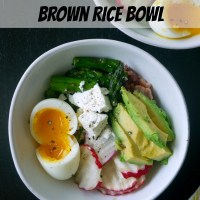 Sqirl's Pesto Brown Rice Bowl