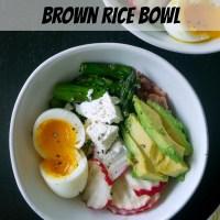 Sqirl's Pesto Brown Rice Bowl