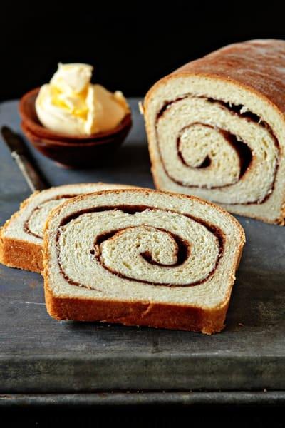 Cinnamon Swirl Bread | My Baking Addiction