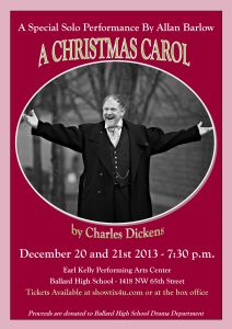 Christmas Carol Poster Revised