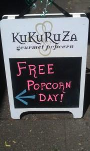 Free Popcorn