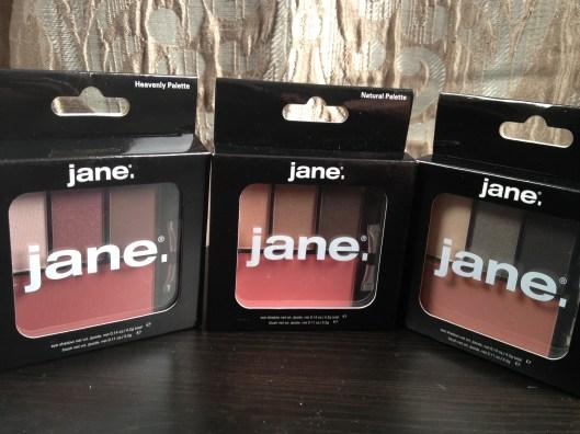 Jane palettes