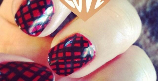 Plush Beauty Bar Valentine's Nail Art