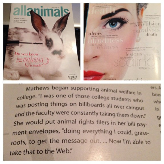 My Beauty Bunny and The Humane Society of the United States HSUS