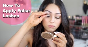 MBB How to Apply False Lashes