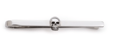 East Dane tie clip skull