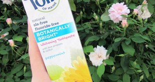 Toms of Maine Botanically Bright Toothpaste Review