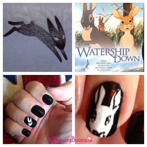Watership Down Nails My Beauty Bunny GimmedatBecca