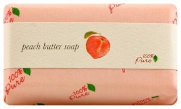 100% Pure Peach Soap