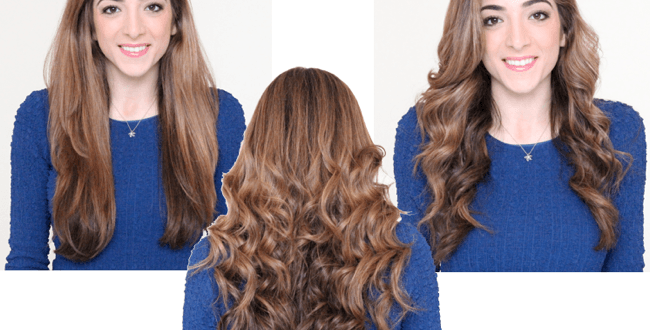 Beachy Wavy Hair Tutorial