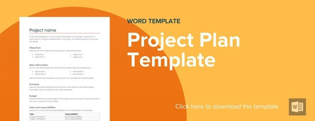 Project Plan Template How to Create A Project Plan?