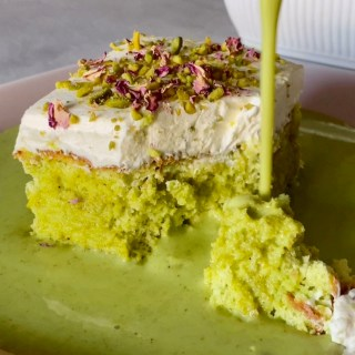 PISTACHIO MILK CAKE RECIPE
