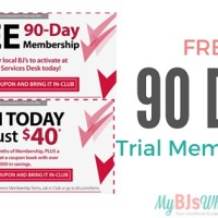 FREE 90-Day Trial Membership to BJs Wholesale Club
