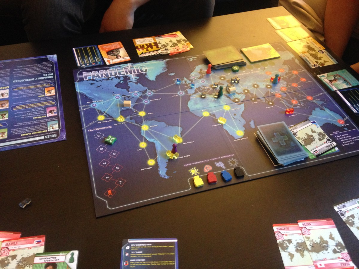 Pandemic - Optimal Research Station Placement