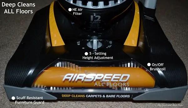 Eureka Airspeed All Floors Vacuum Review Giveaway
