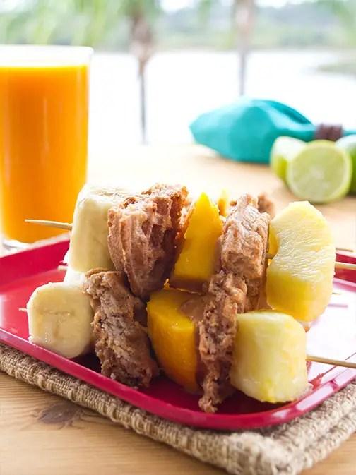 Tropical Breakfast Skewers