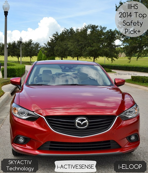 mazda6 safety features