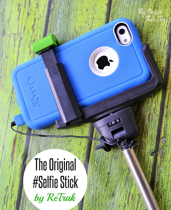 tech accessories that make your life easier retrak selfiestick review my boys and their toys. Black Bedroom Furniture Sets. Home Design Ideas