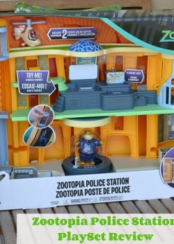 Zootopia Police Station Playset Review