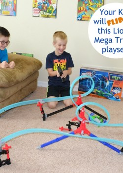 Lionel Mega Tracks Corkscrew Chaos Race Track + Giveaway!