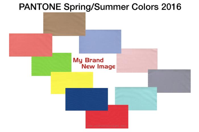 PANTONE Spring / Summer 2016