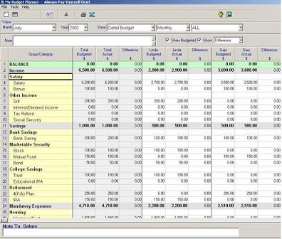 Find Your Budget Stuff Here Personal Budget - Software For Budgeting