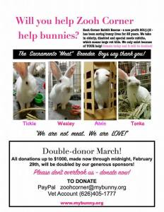 double donor march 2016