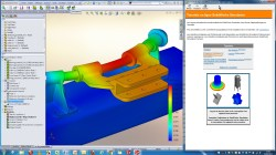 Interface tutoriels SolidWorks Simulation