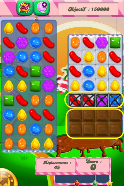 Candy Crush Saga niveau 70